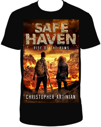 SAFE HAVEN - RISE OF THE RAMS (NEW DESIGN) T-SHIRT