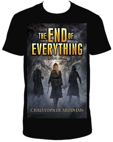 THE END OF EVERYTHING: BOOK 9 T-SHIRT