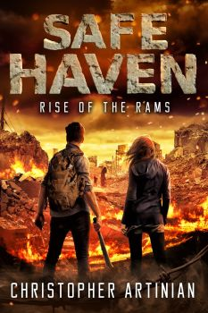 SAFE HAVEN - RISE OF THE RAMS (NEW CHRISTIAN BENTULAN COVER) (SIGNED PAPERBACK)