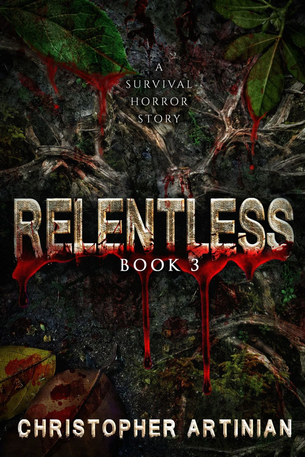 RELENTLESS 3 (SIGNED PAPERBACK)