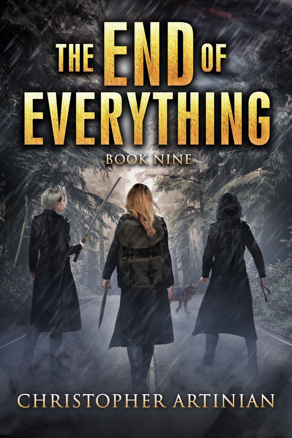 THE END OF EVERYTHING: BOOK 9 (SIGNED PAPERBACK)