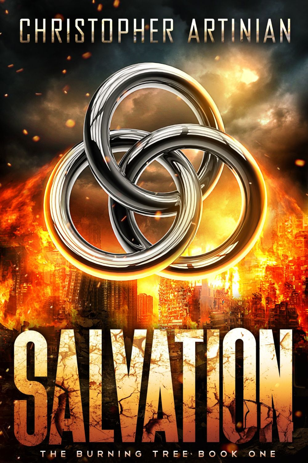 THE BURNING TREE: BOOK 1 - SALVATION (SIGNED PAPERBACK)