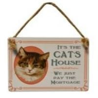 Cat Signs & Plaques
