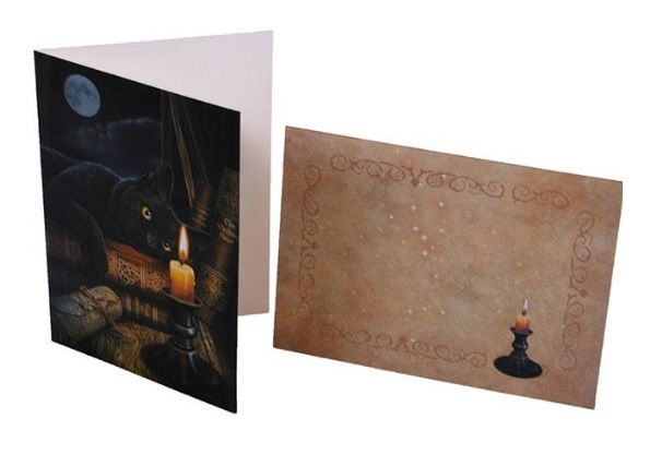 Lisa Parker - The Witching Hour Greeting Card