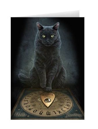 Lisa Parker - |His Masters Voice Greeting Card