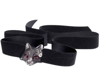 Bastet Goddess - Black Cat Choker