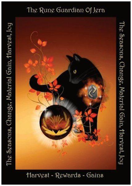 A5 Rune Guardian Collector Cards - Jera