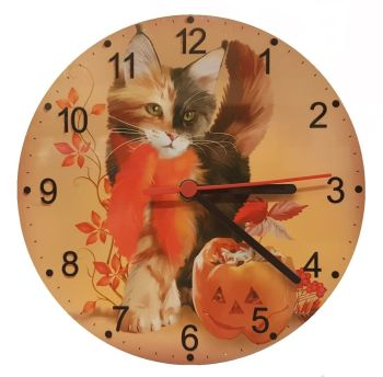 Pumpkin - Wall Clock
