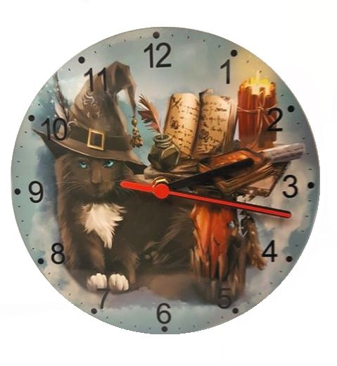 The Magician - Cat Wall Clock