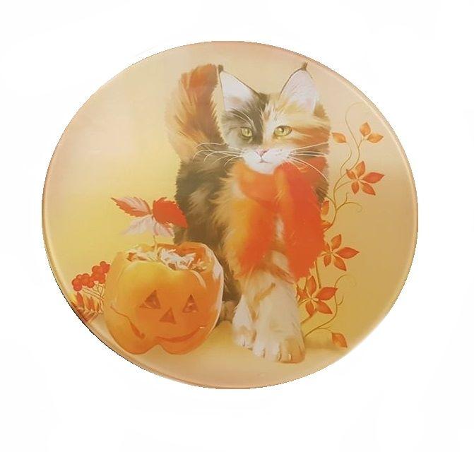Pumpkin - Glass Chopping Board