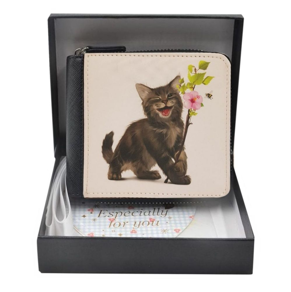 Chester The Kitten - PU Leather Purse - Boxed