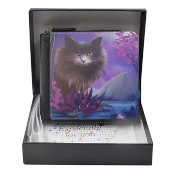 Fantasy Cat - Obsidion - Small Purse - Boxed