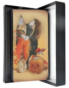 Pumpkin - Large Clutch Purse