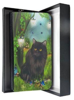 Crystal Sparkle Large Purse - Enchanted Curiosity - Black Cat Purse - Fairy Forest