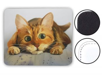 Lets Play Cat - Mouse Mat