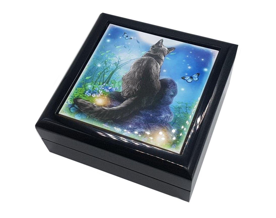 Moongazer- Cermaic Tiled Jewellery Box