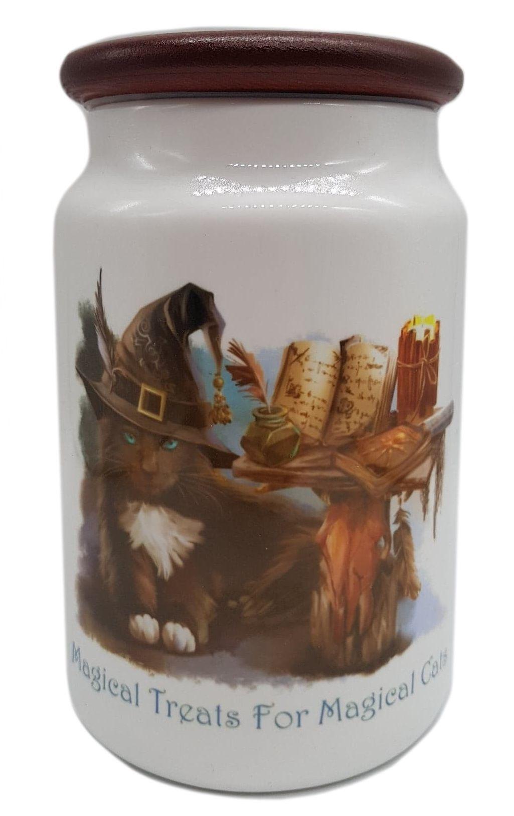 The Magician - Cat Treat Jar