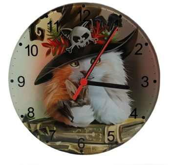 Magic Glass Wall Clock