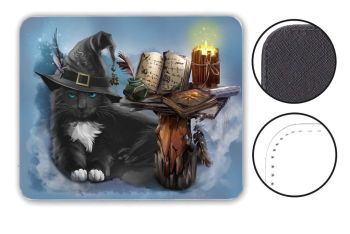 The Magician - Leather Effect Mouse Mat