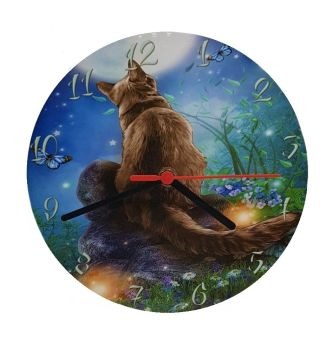 Moongazer- Wall Clock