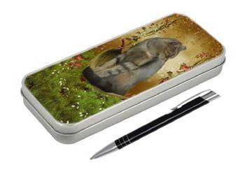 Autumn Enchantment - Pencil Tin & Pen