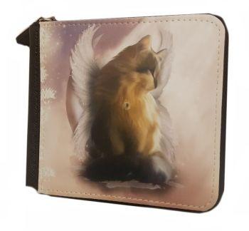 Guardian Angel Cat - Castiel - Small Purse - Boxed