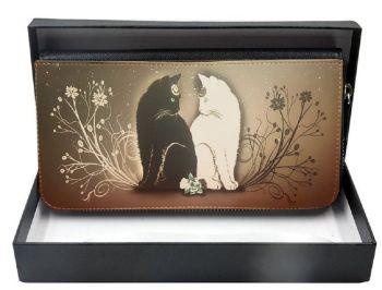 Yin & Yang - Large Clutch Purse - Boxed
