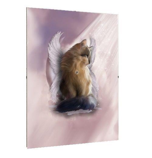 Framed Print - A3/A4 Size - Castiel