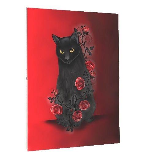 Framed Print - A3/A4 Size - Ebony Rose