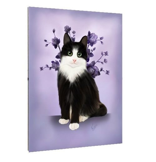 Framed Print - A3/A4 Size - Lilac