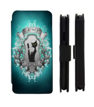 Samsung Galaxy - S9/S8/S7/S6/S5/S4/S3 - Black Cat