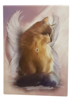 Castiel The Guardian Angel - Canvas Picture WAS £13.49