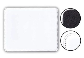 Personalised Mouse Mat PU Leather