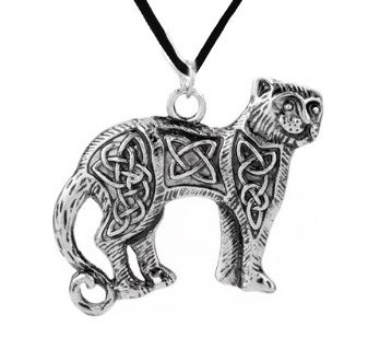 Celtic Knot Cat Necklace was £4.99