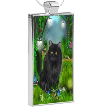 Silver Plated Pendant - Enchanted Curiosity WAS £13.49