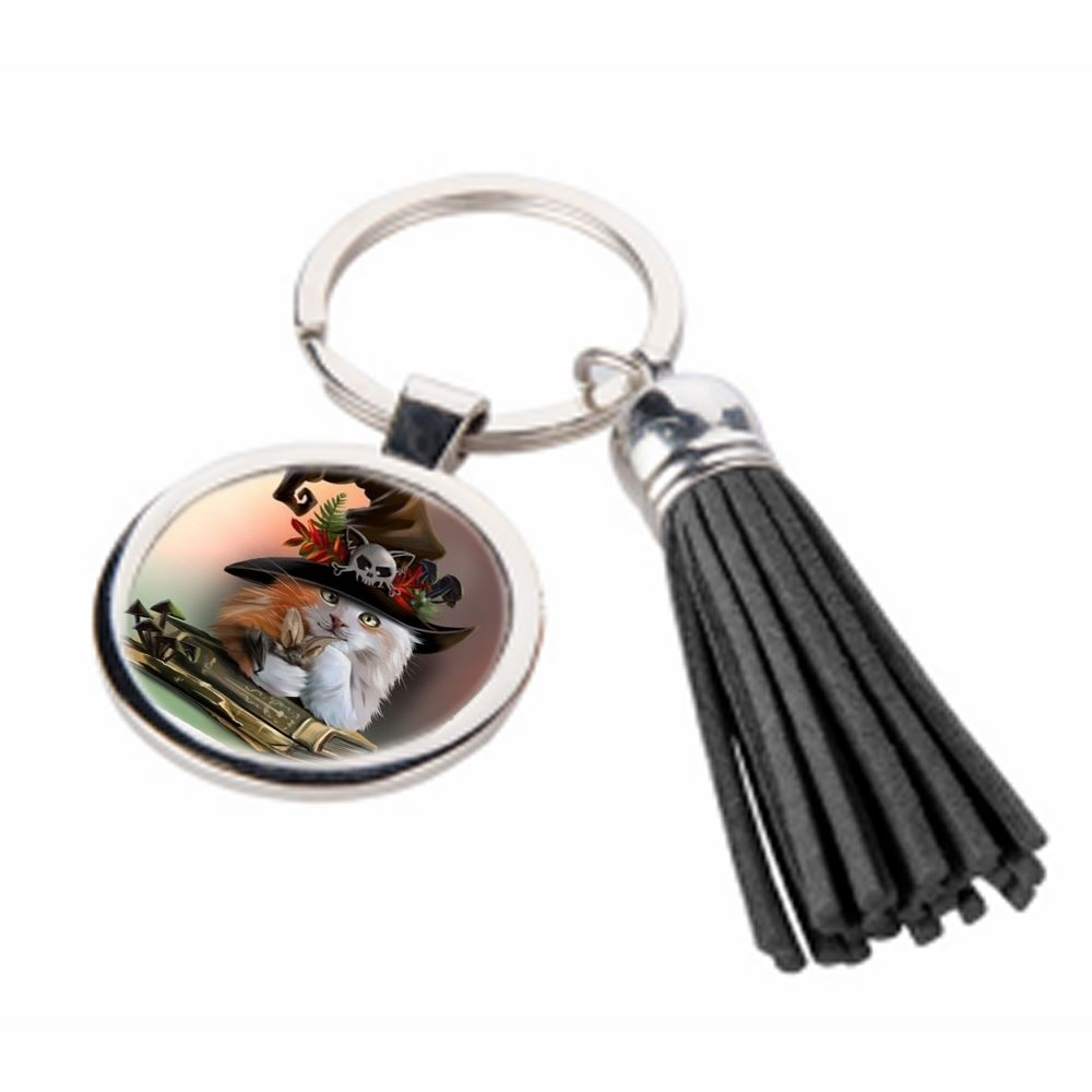 Magic - Metal Keyring & Tassel