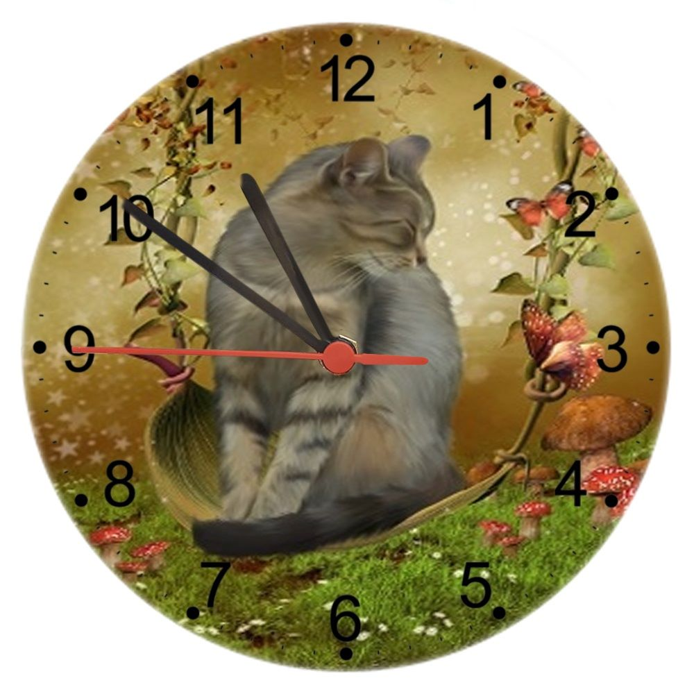 Autumn Enchantment - Wall Clock