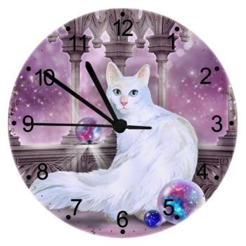 Star Keeper - Cat Wall Clock