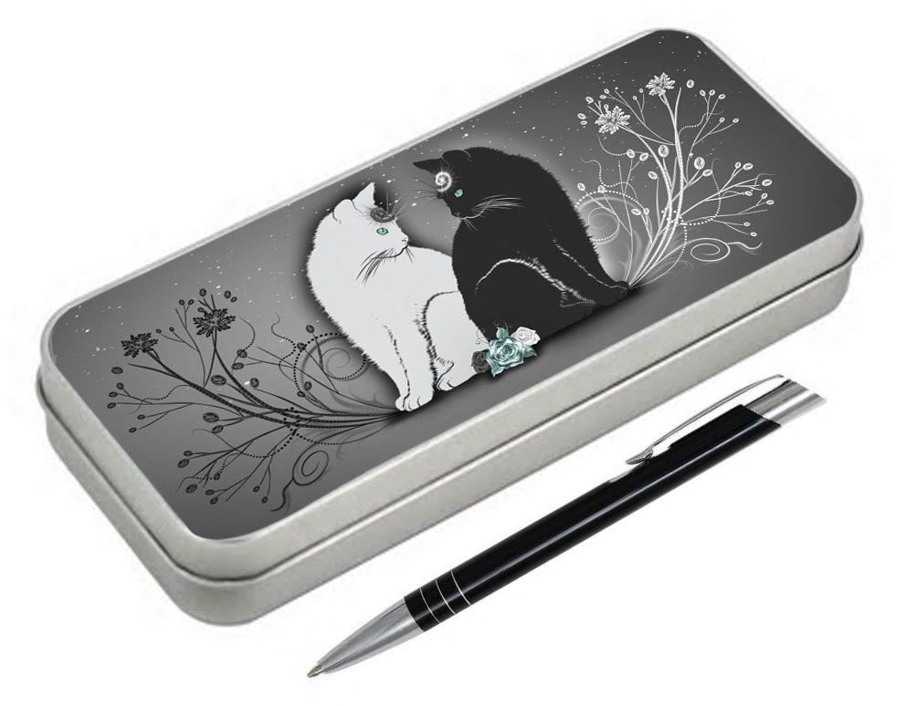 Yin & Yang - Pencil Tin & Pen