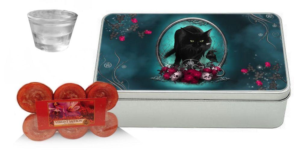 Vibrant Saffron Yankee Candle Gift Set - Familiar Protection