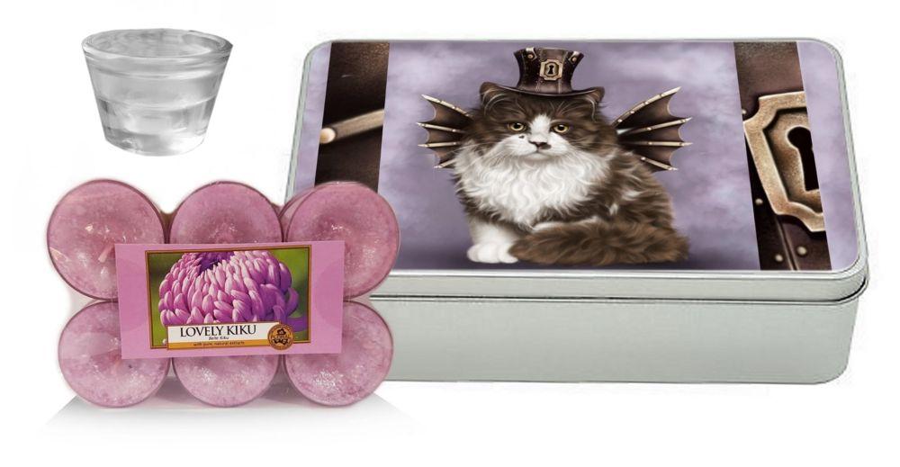 Kiki Yankee Candle Gift Set - Steampunk Valentine Cat