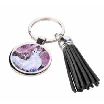 Star Keeper - Metal Keyring & Tassel