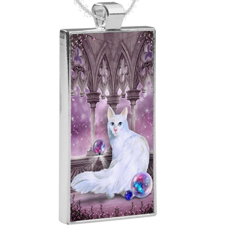 Silver Plated Pendant & 24 Inch Chain - Star Keeper