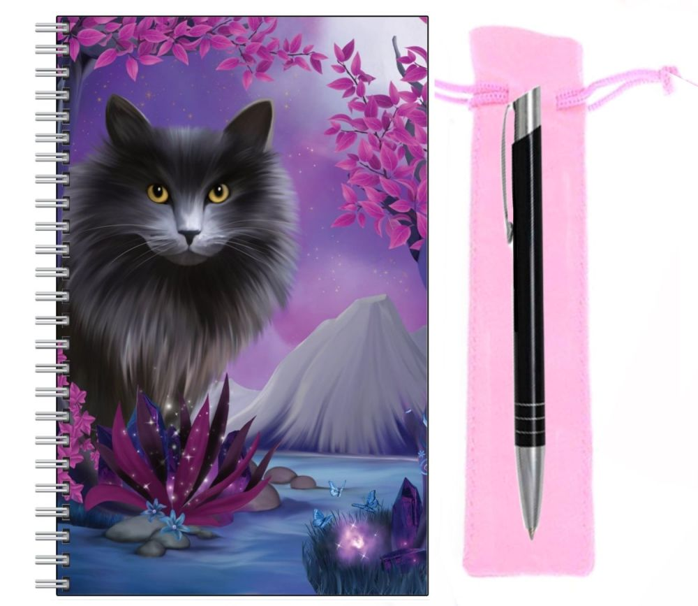 Lined Notebook & Pen Set - Obsidion