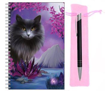 Lined Notebook & Pen Set - Obsidion