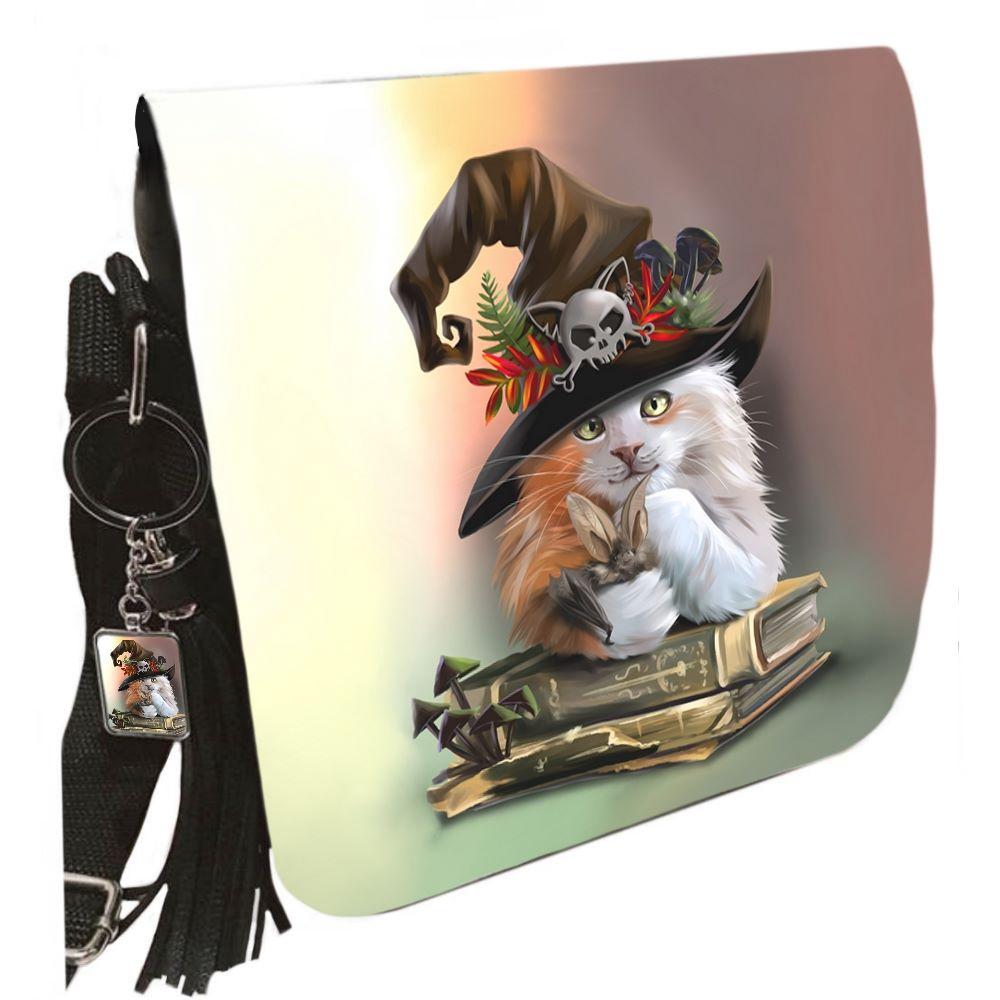 Small Shoulder Cat Bag With Tassel Ring - Magic