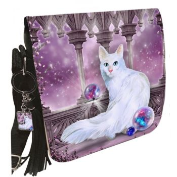 Small Shoulder Cat Bag With Tassel Ring - Star Keeper