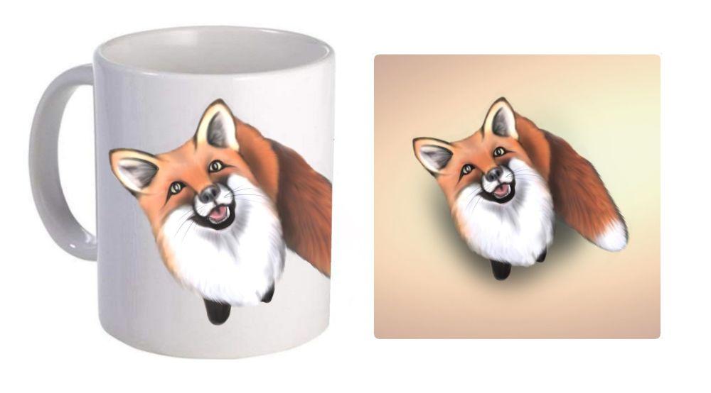 Little Fox - Boxed Mug & Coaster Set