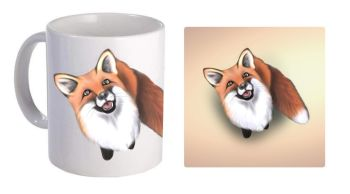 Little Fox - Boxed Mug & Coaster Set