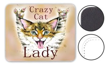 Crazy Cat Lady - Mouse Mat